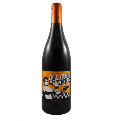 Mas Del Périé Fabien Jouves You F*ck my wine 2017 Malbec (Cot), Jurançon Noir, Merlot 75cl