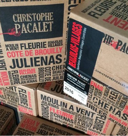 Christophe Pacalet Beaujolais-Villages 2018 100% Gamay 5L