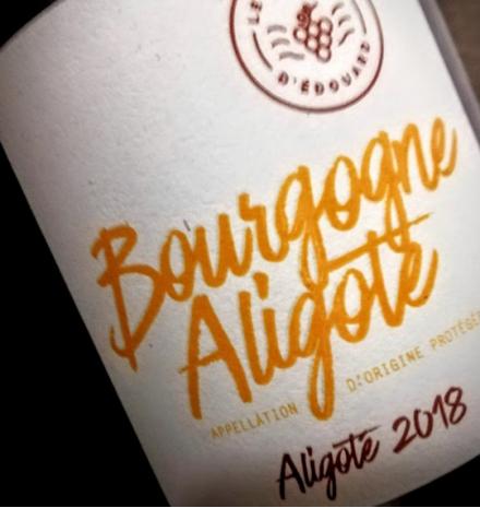 Le Domaine d'Edouard Edouard Lepesme Bourgogne Aligoté 2018 100% Aligoté  75cl
