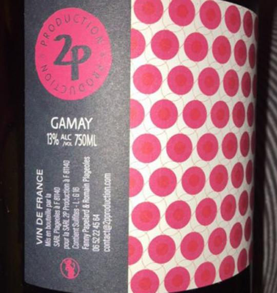 Meskine Contact 2017 80% Gamay, 20% Loin de l'œil 2p Production Fanny Papelard & Romain Plageoles 75 cl