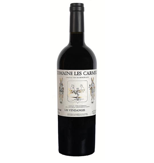Domaine Les Carmels Les Vendanges 2015 80% Merlot, 20% Cabernet Franc 75cl